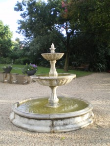 BURKLEIGH HOUSE fountain