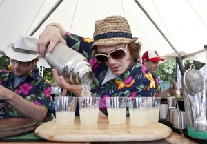 mixologists at work